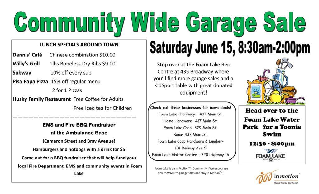 """6th Annual """"Spring Into Summer"""" Community Garage Sale @ Garage Sales around town"""