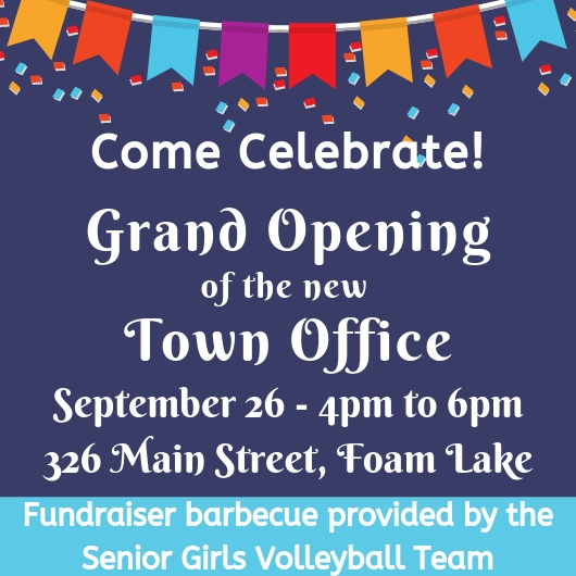 Town Office Grand Opening @ Town Office