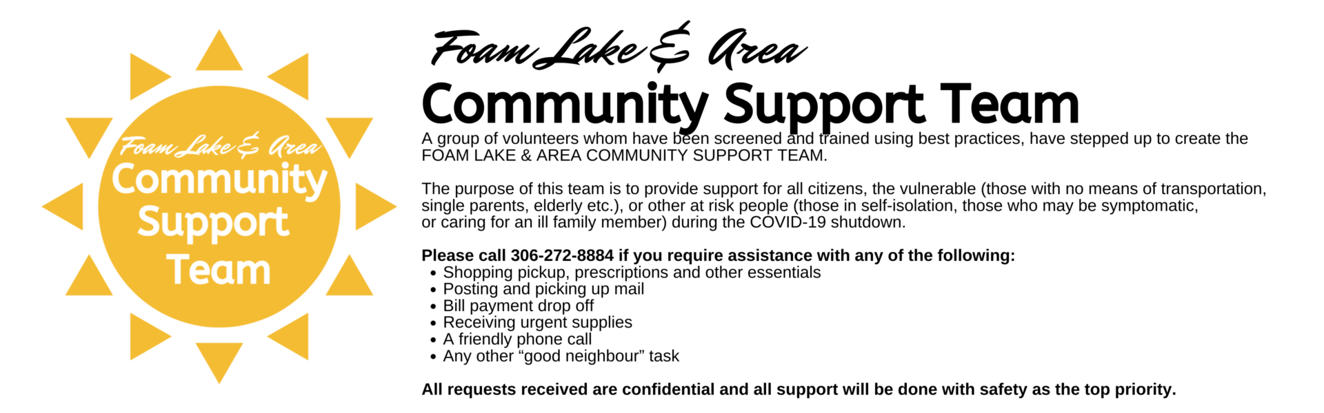 Copy of Copy of Copy of Foam Lake Community Support Team